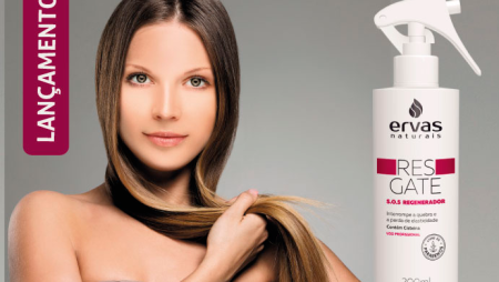 Tecnologia para recuperar cabelos danificados
